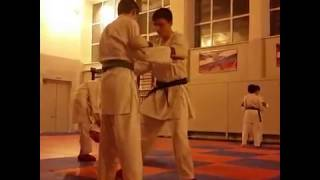 - Karate training -