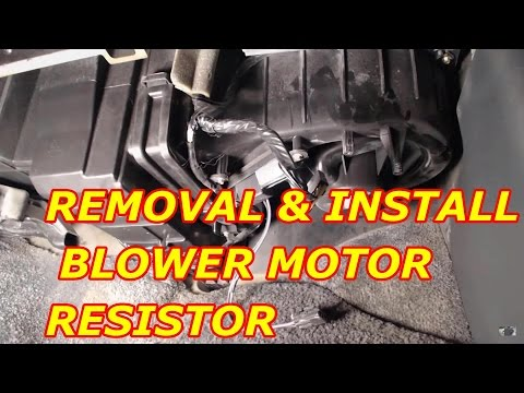 2000 Chevy Tahoe Blower Motor Resistor Replacement
