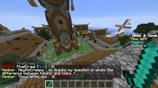 minecraft guildcraft minigames hideandseek ve call of duty
