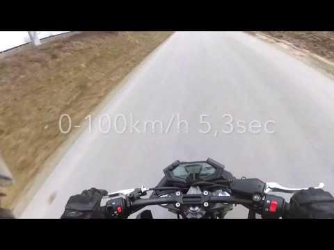 Kawasaki Z800e 35Kw A2 0-100km/h 0-60