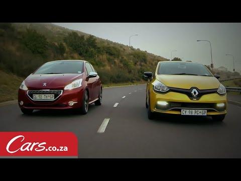 Head to Head - Peugeot 208 GTi vs Renault Clio RS