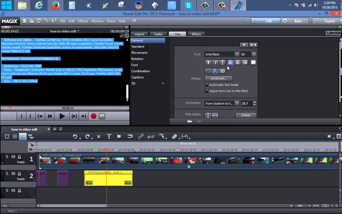 MAGIX Movie Edit Pro 2015 Premium Final crack  Update 1400166