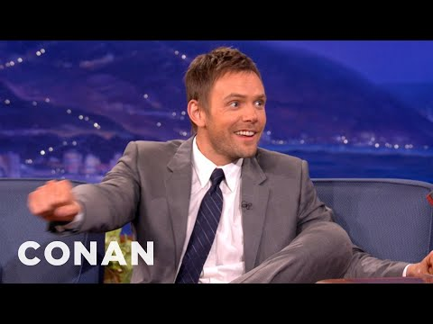 Joel McHale Loves To Hate Trashy Reality TV - CONAN on TBS