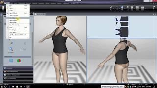 Lectra Modaris 3D V8 Huong Dan Su Dung Can Ban Tao 3D