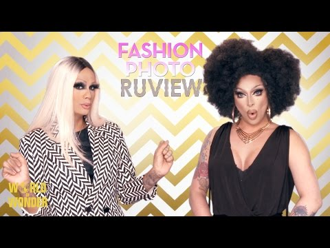 RuPaul's Drag Race Fashion Photo RuView with Raja and Raven: Season 7 Episode 10 - Prancing Queens