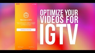 IGTV Instagram Tutorial - How To Upload Longer IGTV Videos from Your Computer