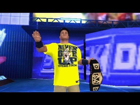 WWE 13 PSP John Cena Yellow T shirt Hack + WWE Belt 2013 Hack