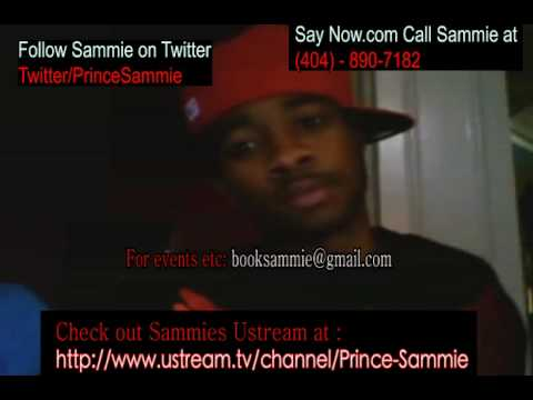 R&B singer Sammie and his sister singing she can be the next Jennifer Hudson