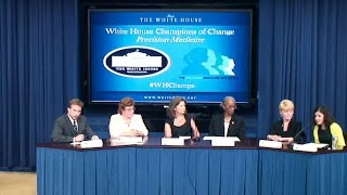 White House Champions of Change - Precision Medicine