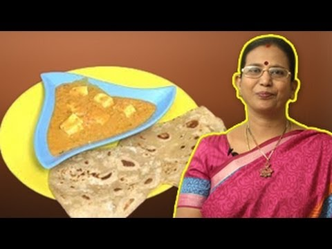 Paneer Butter Masala | Mallika Badrinath Recipes