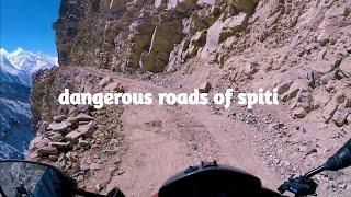 Dangerous roads of spiti valley || Nako to Kibber || Himachal pradesh