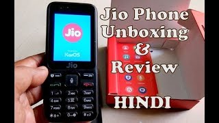 Jiophone unboxing, review and first impressions in HINDI