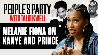 Melanie Fiona Recalls Kanye West's Advice On Being Noticed And Remembered | People's Party Clip