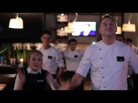 Flash mob на день рождения ресторана BEEF мясо & вино