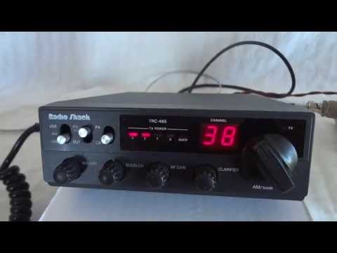 Radio Shack (Realistic) TRC-465 AM SSB CB radio