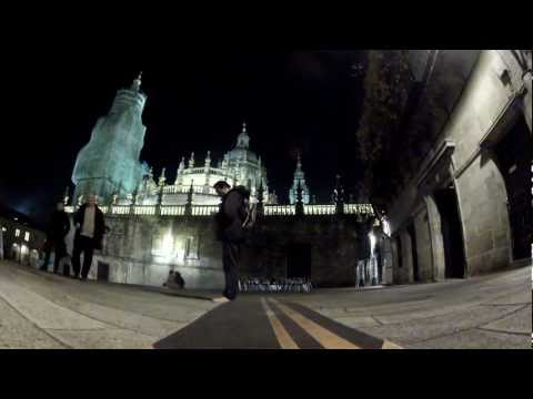 Longboard Tsunami Teide en Catedral de Santiago de Compostela (2 de 7)