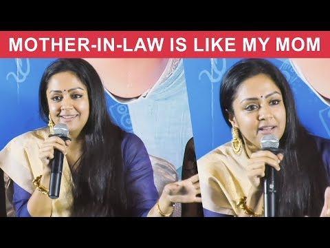 I was Comfortable with Ajith,Surya & Madhavan - Jyothika | Kaatrin Mozhi