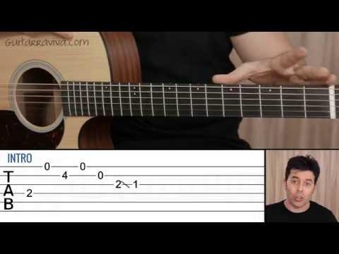 Como tocar Photograph de Ed Sheeran en guitarra Tutorial guitar lesson