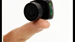 Camera nhỏ nhất thế giới || Giá Siêu Rẻ || Camera mini