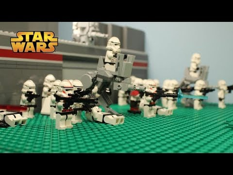 lego star wars stop motion