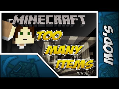 Minecraft Mods // TooManyItems [1.7.2] (Download + Instalação) :D - Willzy