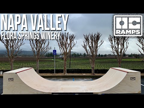 Napa Valley invites OC Ramps to Flora Springs Winery