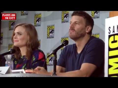 Bones Season 10 Comic Con Panel 2014 - Emily Deschanel & David Boreanaz