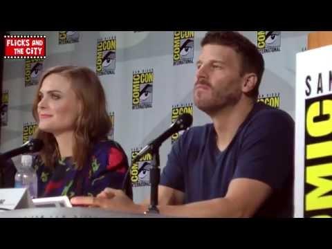 Bones Season 10 Comic Con Panel 2014 - Emily Deschanel & David Boreanaz