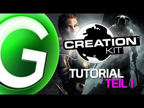 SKYRIM CREATION KIT - Video Tutorial #1 [German]