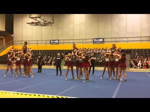 Belvedere Middle School Cheer