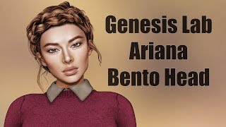 Genesis Lab Ariana Bento Head in Second Life