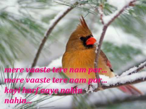 Tera Hijr w Lyrics song.wmv