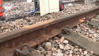 Rail track inspection using phased array ultrasonic testing