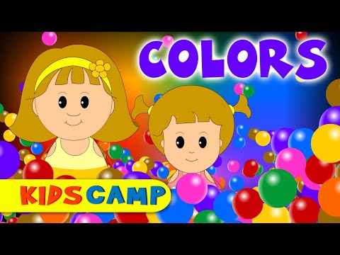 Color Song, Learn Colors, Animated Colors Song for Children, Babies & Toddlers