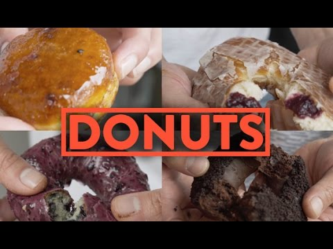 FUNG BROS FOOD: Doughnut Plant! (WE EAT 25 DONUTS)