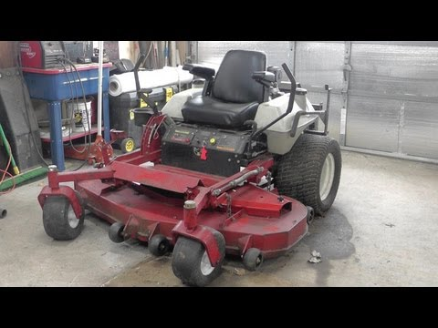 DIY Mower Seat Repair -  Garden Tractor Seat - Zero Turn - eXmark