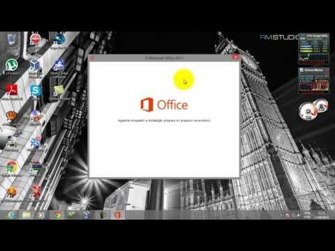 instalando e ativando Microsoft office 2013 pt-br