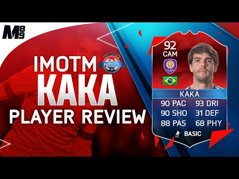 FIFA 16 CLASSIC iMOTM KAKA REVIEW (92) FIFA 16 Ultimate Team Player Review + In Game Stats