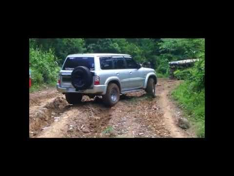 San Ysiro Trail with the Nissan Patrol Club of the Philippines - May 12. 2012