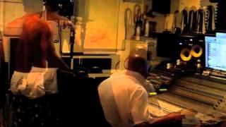Webbie Video - Webbie Superstar Guess recording a new song in the Fhat City