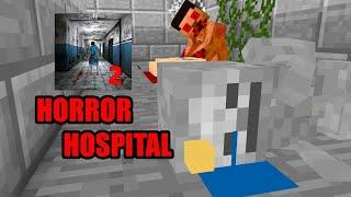 مدرسه الوحوش انميشن هيرو براين يشرح لعبه المستشفى المرعبه في ماين كرافت