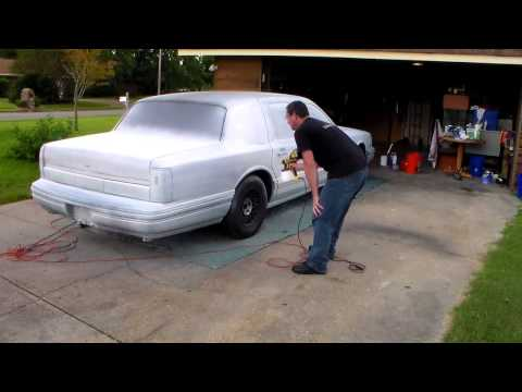 Plasti Dip 94 Lincoln Town car