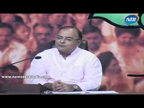 Jaitley Highlights The Rathod Issue Of Rajasthan video