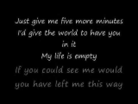 Bring You Back- Hawthorne Heights (Lyrics)