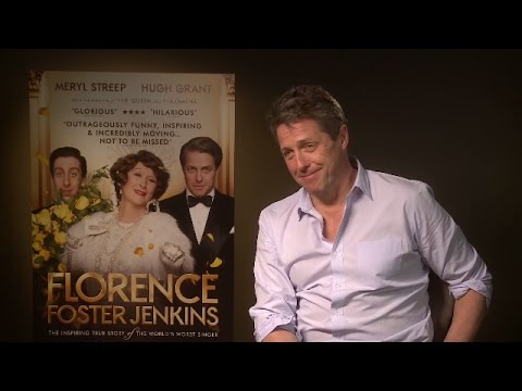 "Hugh Grant: ""I've never had the acting bug, I haven't missed it"" Florence, Foster Jenkins Interview"