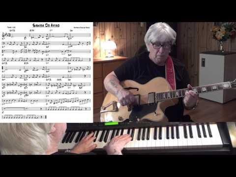 Samba Do Aviao - Jazz guitar & piano cover ( Antonio Carlos Jobim )
