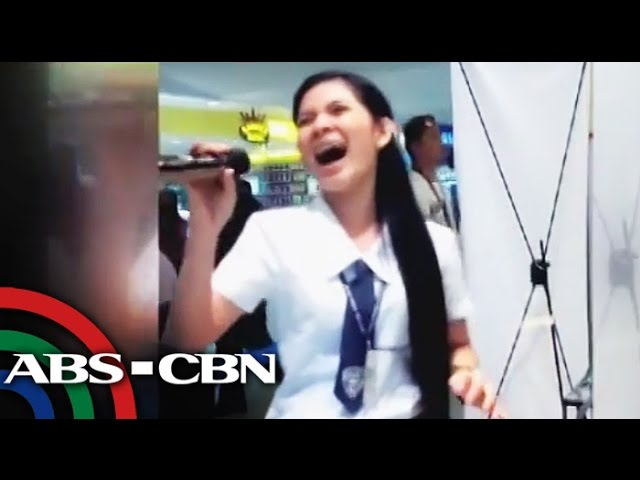 Davaoe�a student belts out Through The Fire, goes viral