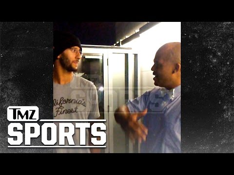 Colin Kaepernick Cornered Over Cam Newton ...'We Ain't the Same Person'