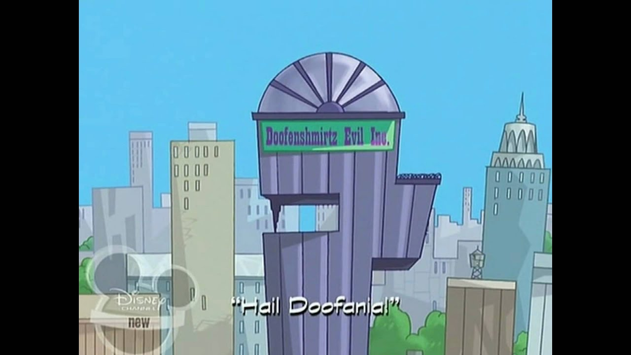 Phineas And Ferb Dr Doofenshmirtz Building Phineas and Ferb