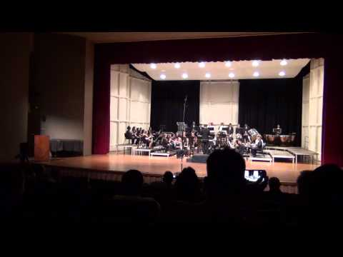 Radford High School Symphonic Band OBDA Parade of Bands 2013